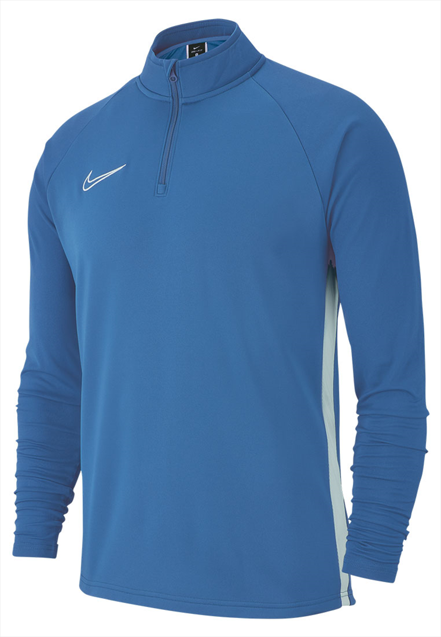 Nike Trainingsoberteil Academy 19 Drill Top 1/4 Zip LS marineblau/weiß Bild 2
