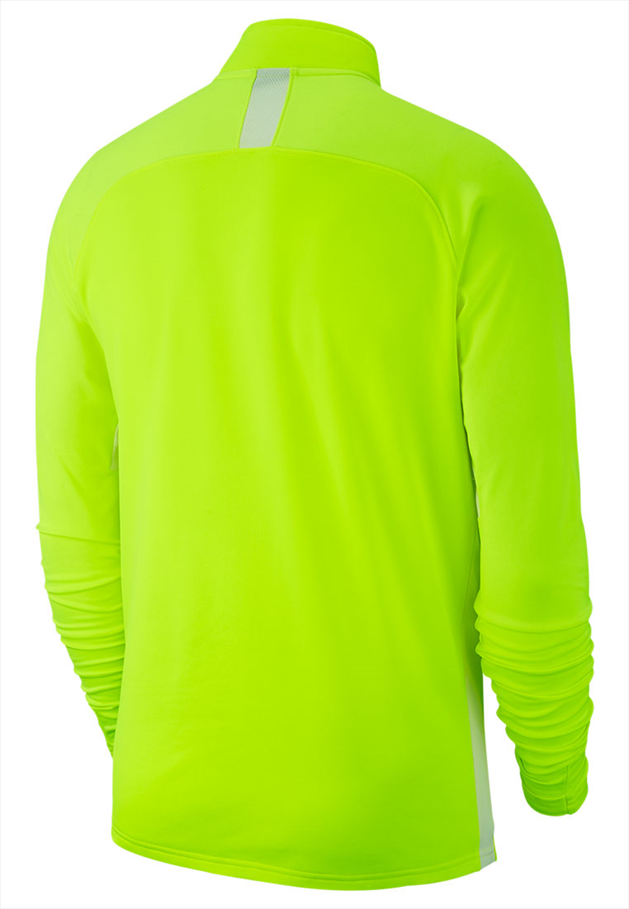 Nike Trainingsoberteil Academy 19 Drill Top 1/4 Zip LS gelb fluo/weiß