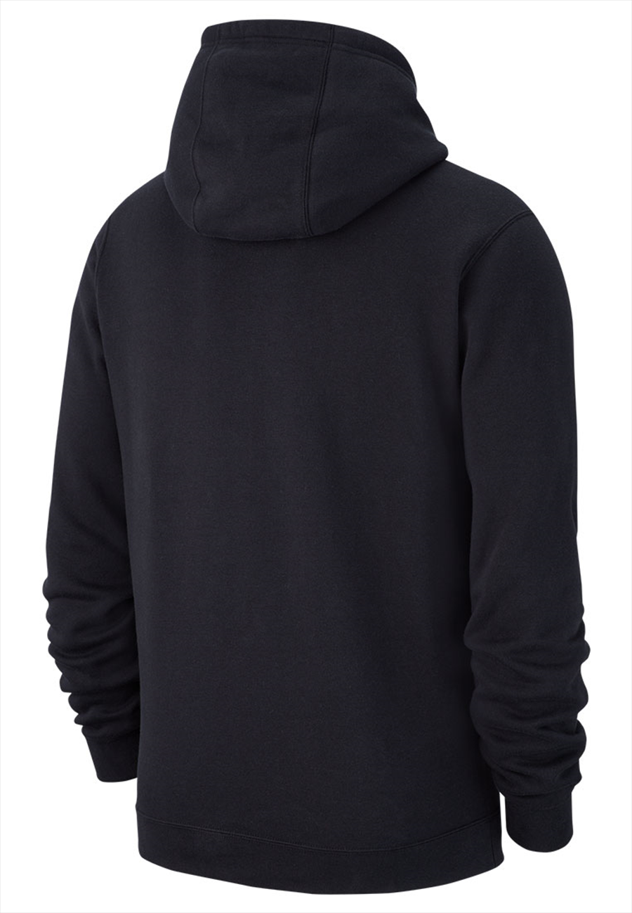 Nike Kapuzenpullover Team Club 19 Fleece Hoody schwarz