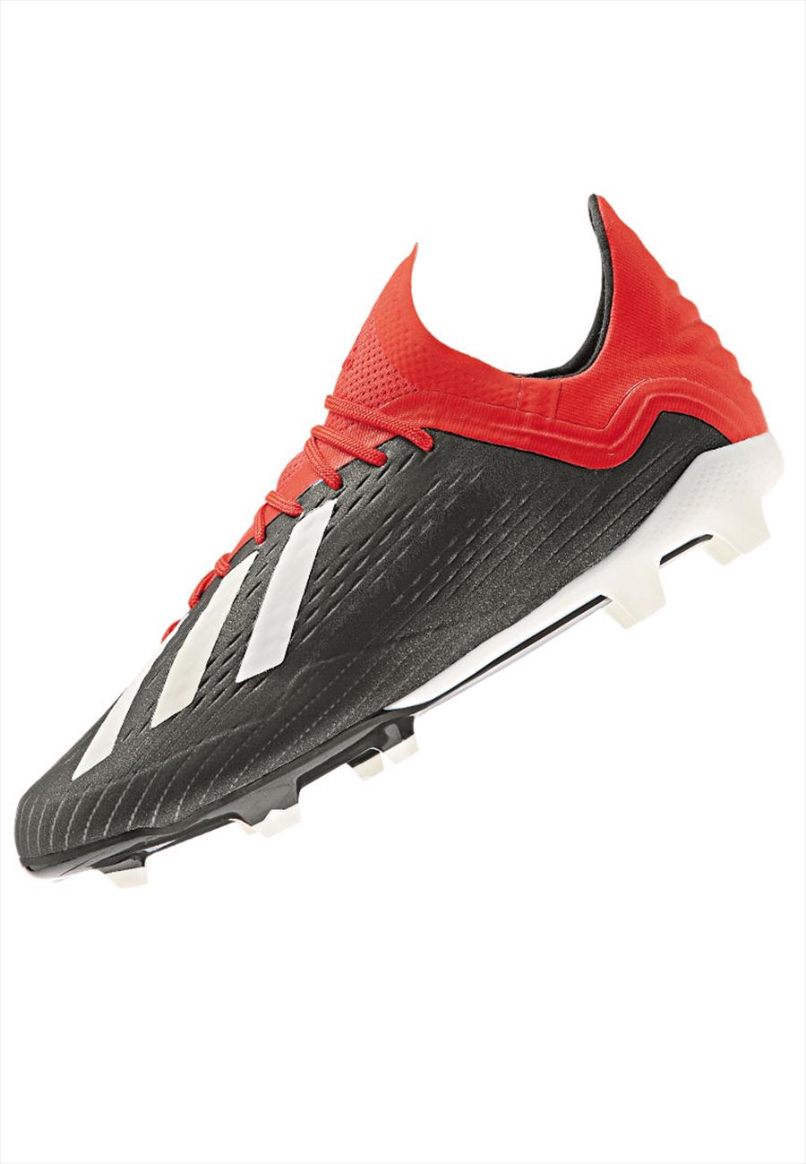 adidas Kinder Fußballschuh X 18.1 FG J schwarz/rot Bild 3