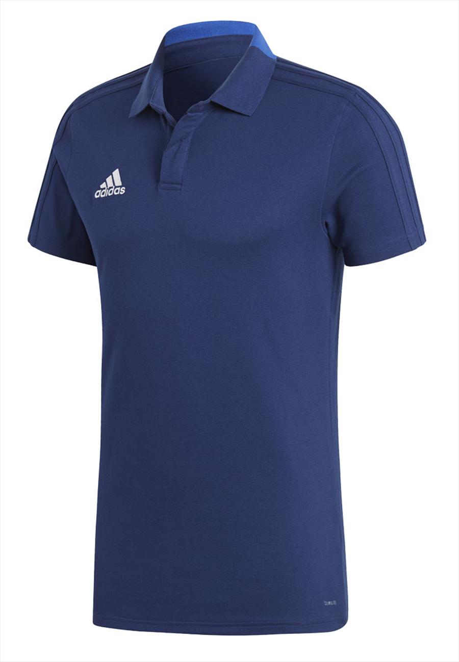 adidas Poloshirt Condivo 18 CO dunkelblau/weiß Bild 2