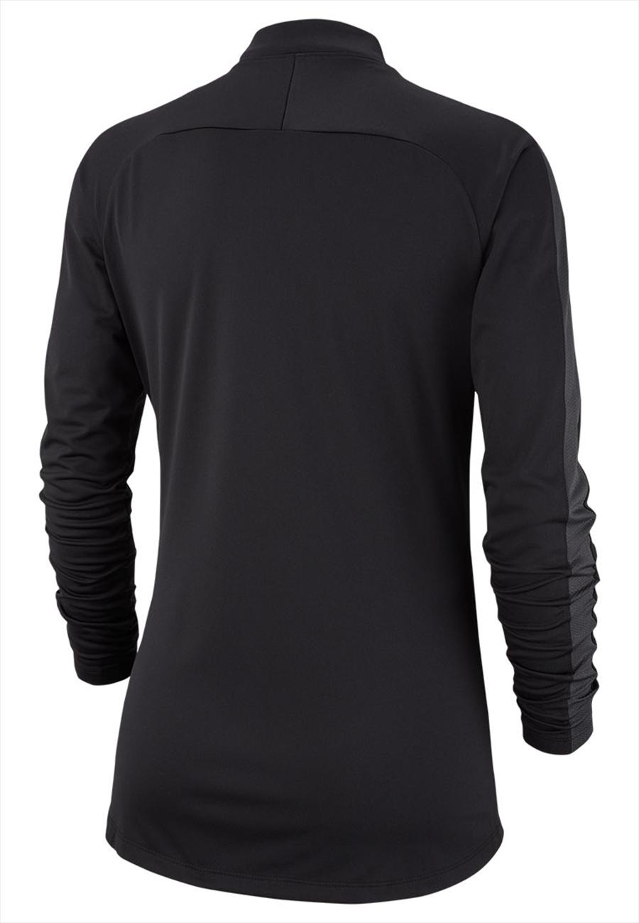 Nike Damen Trainingsoberteil Academy 18 Drill Top 1/4 Zip LS schwarz/weiß Bild 3