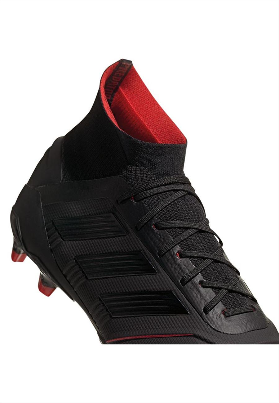 adidas Fußballschuh Predator 19.1 FG schwarz/rot Bild 6