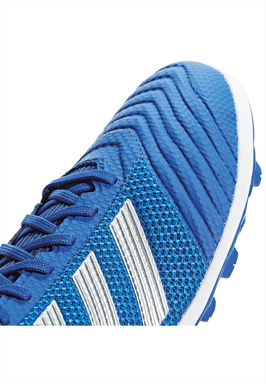 adidas Fußballschuh Predator 19.3 TF Kunstrasen blau/silber Bild 7