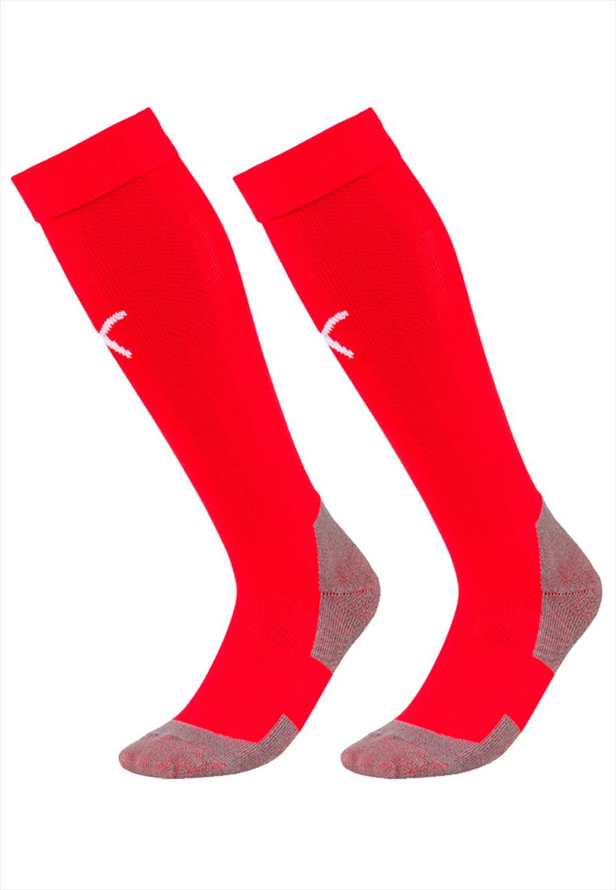 Puma Stutzen Liga Core Socks rot/weiß Bild 2