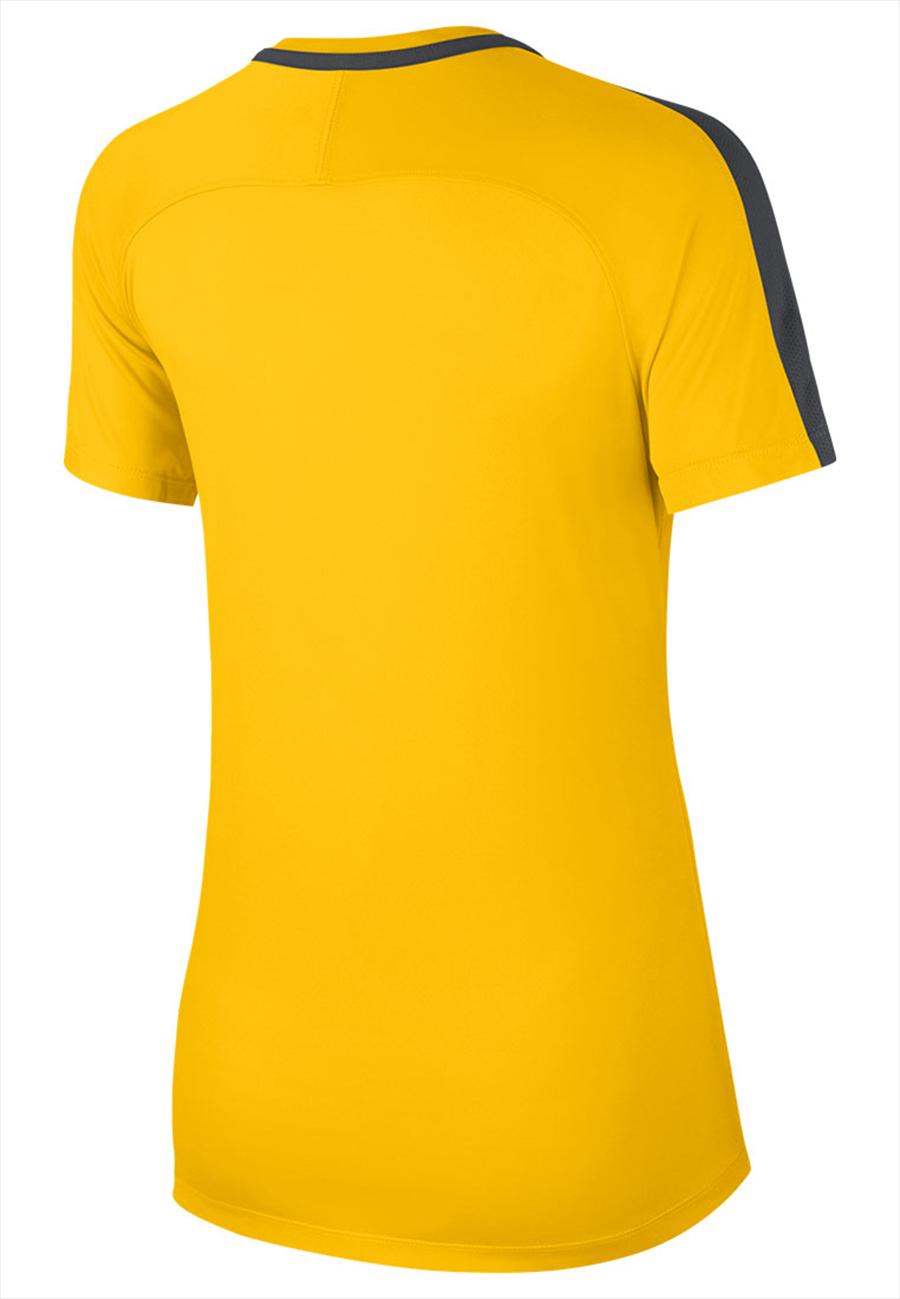 Nike dames trainingsshirt Academy 18 geel/zwart Afbeelding 3