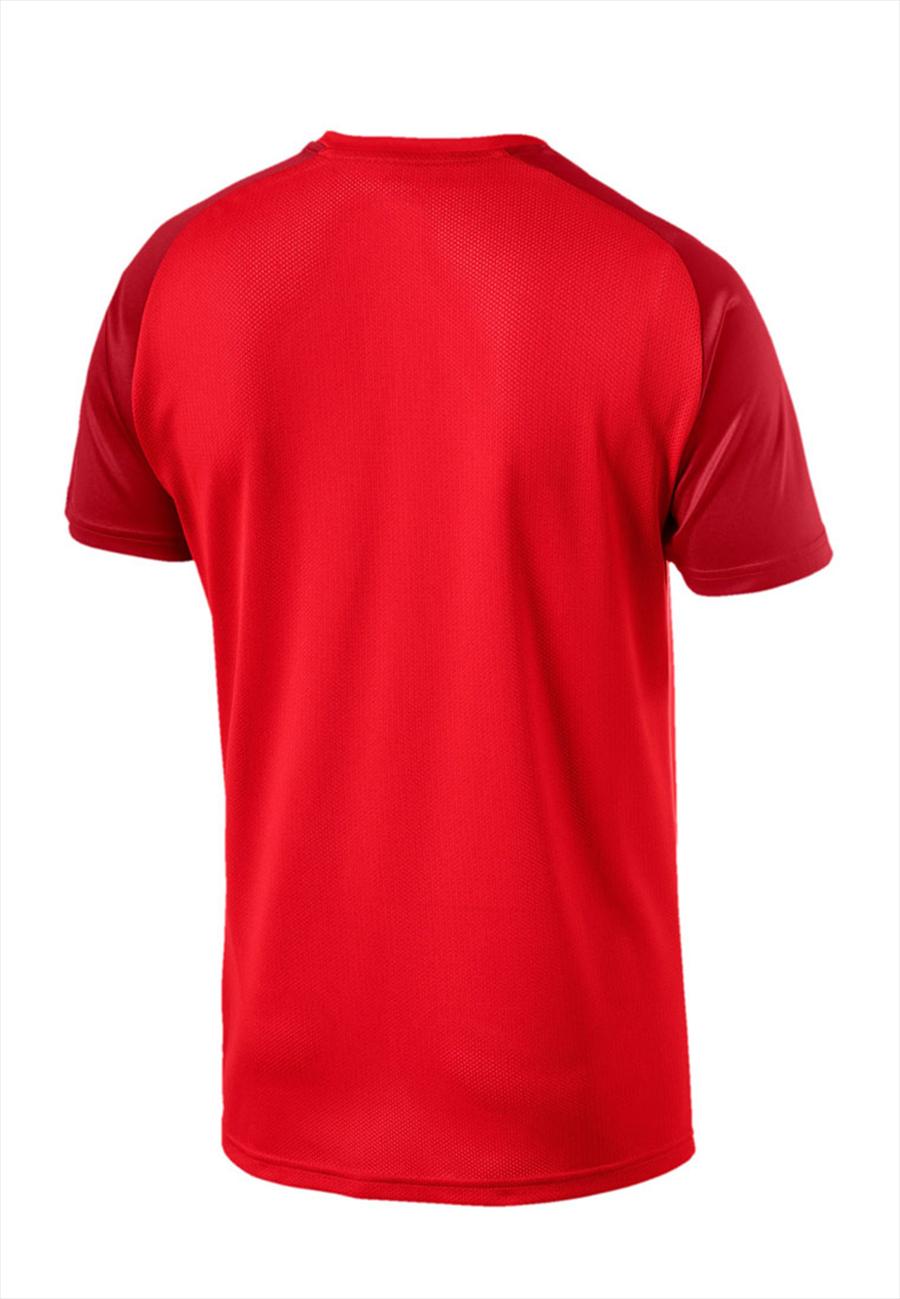 Puma Trainingshirt Cup Training Core Jersey rot/dunkelrot Bild 3