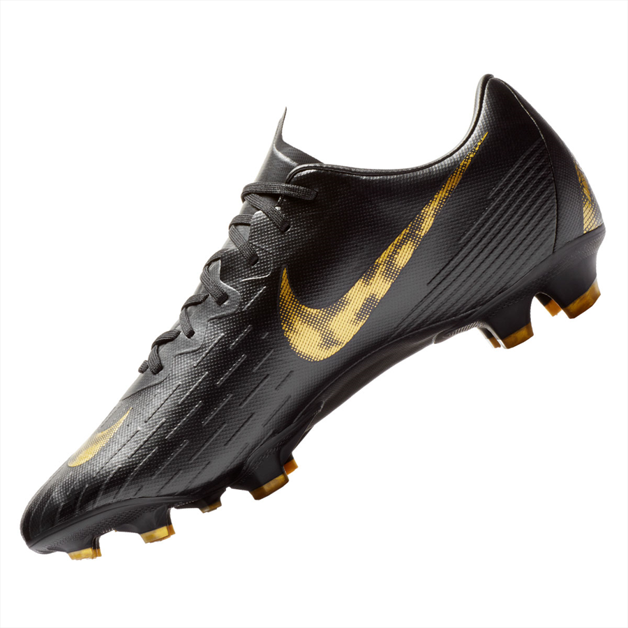 Nike Fußballschuh Mercurial Vapor XII Pro FG schwarz/gold Bild 3