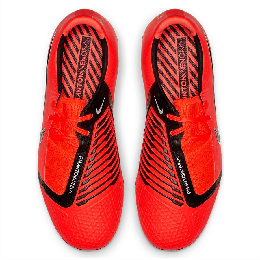 Nike Kinder Fußballschuh Phantom Venom JR Elite FG rot/schwarz Bild 4