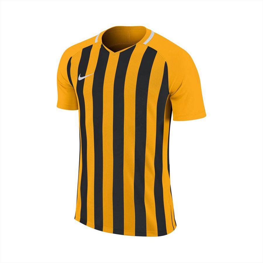 Nike Kinder Trikot Striped Division III SS Jersey gelb/schwarz Bild 2