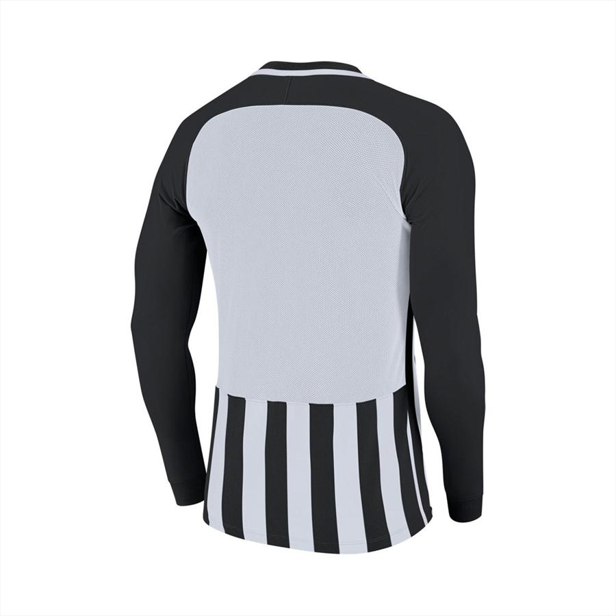 Nike Kinder Langarm Trikot Striped Division III LS Jersey schwarz/weiß Bild 3