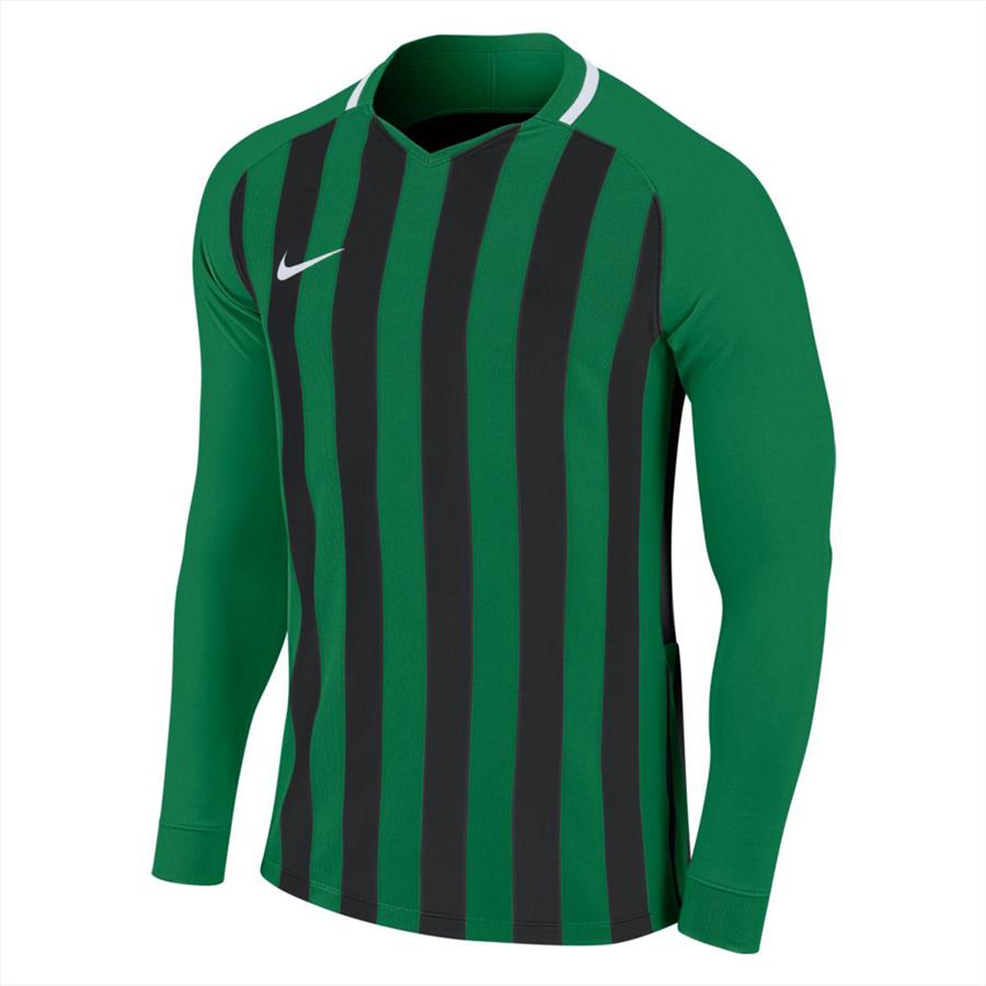 Nike Langarm Trikot Striped Division III LS Jersey grün/schwarz Bild 2