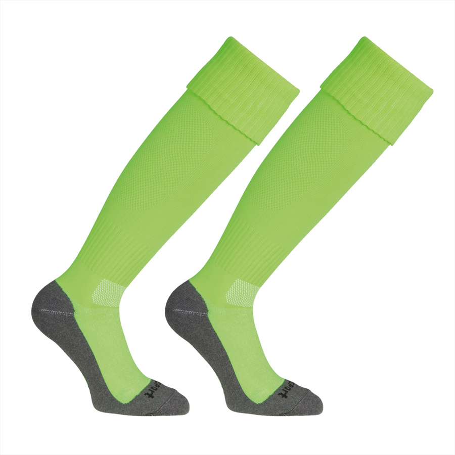 Uhlsport Stutzen Team Pro Essential Stutzenstrumpf grün fluo/schwarz Bild 2