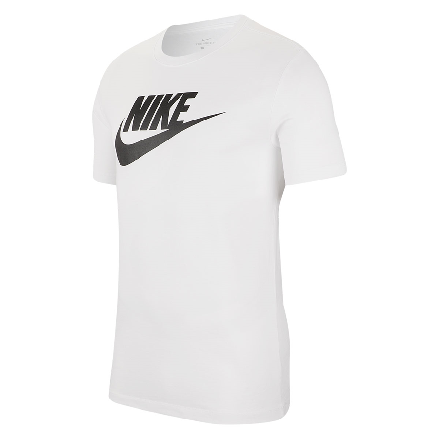 "Nike Shirt Sportswear ""Just do It"" Tee Icon Futura weiß/schwarz Bild 2"
