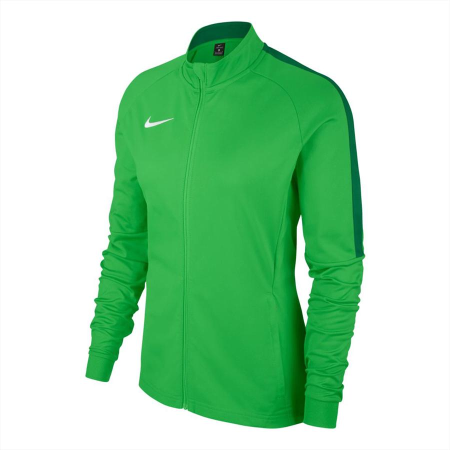 Nike Damen Trainingsjacke Academy 18 Knit Track Jacket grün fluo/weiß Bild 2