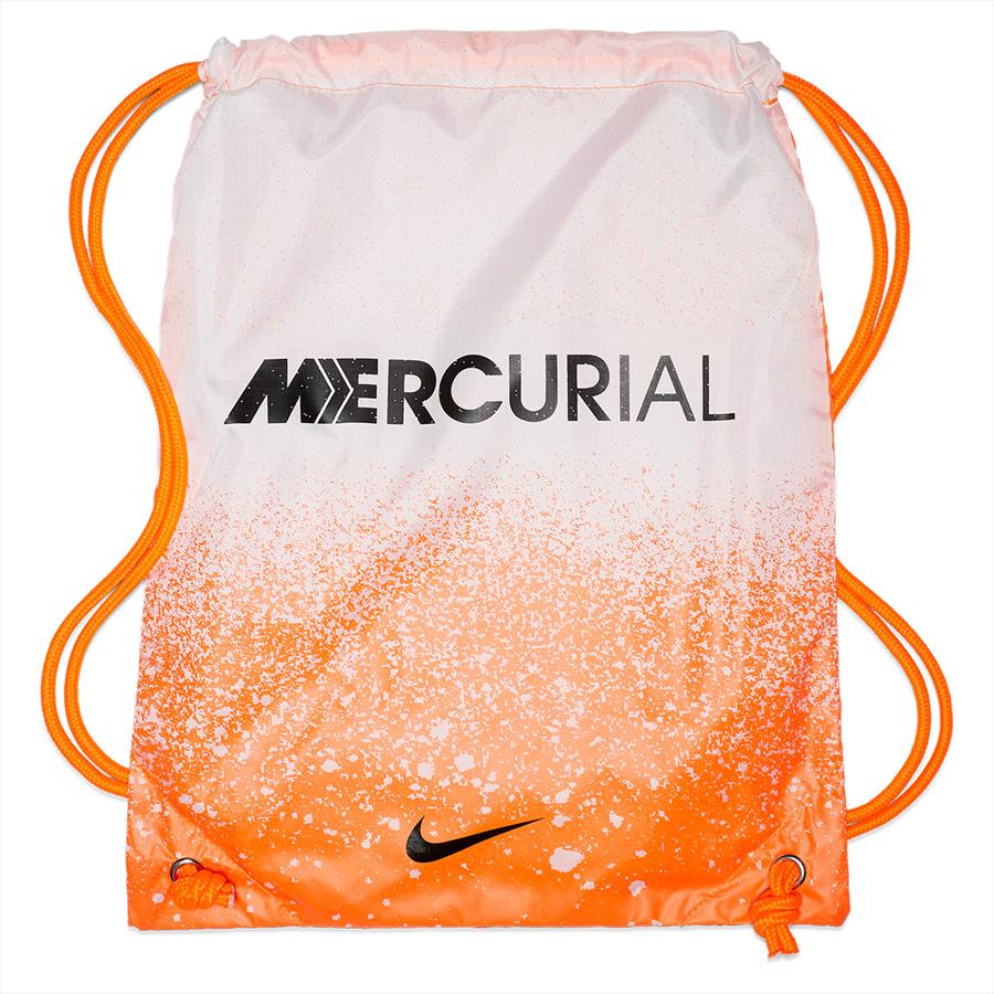 Nike Fußballschuh Mercurial Superfly VI Elite FG orange/weiß Bild 9