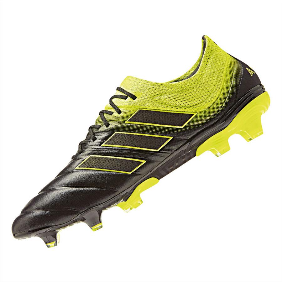 adidas Fußballschuh Copa 19.1 FG schwarz/gelb fluo Bild 3