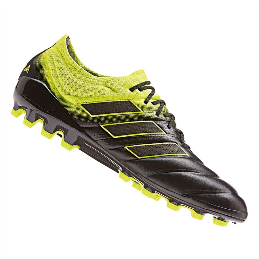 adidas Fußballschuh Copa 19.1 AG schwarz/gelb fluo Bild 2