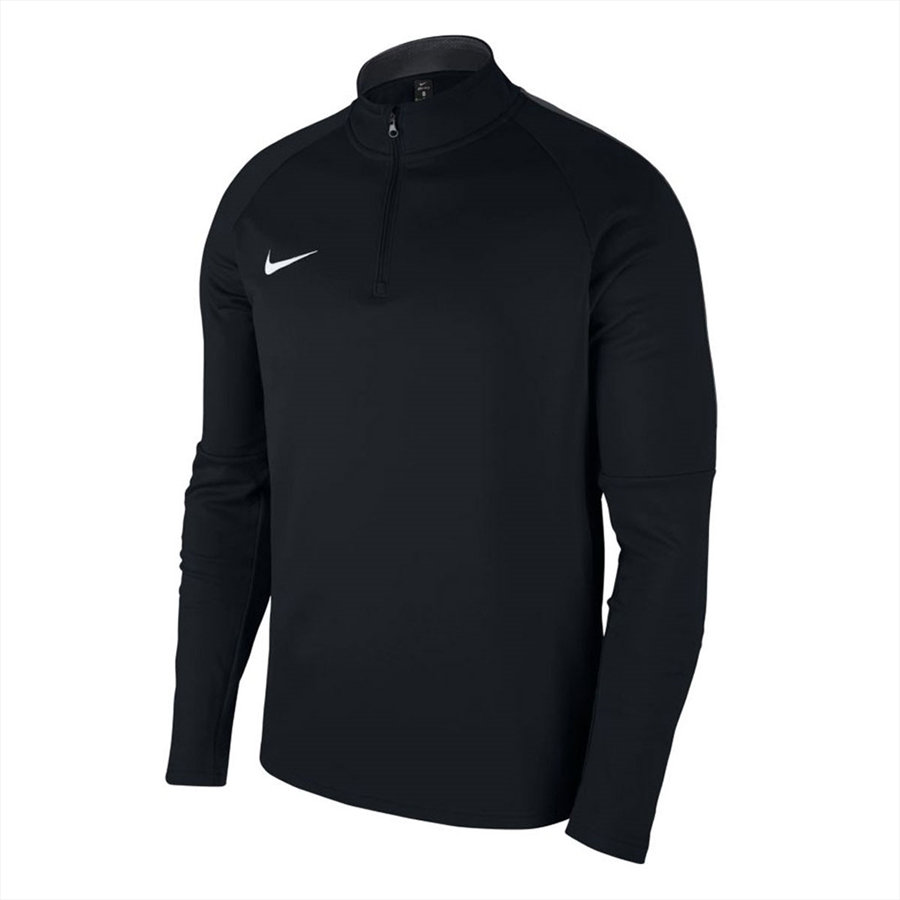 Nike Trainingsoberteil Academy 18 Drill Top 1/4 Zip LS schwarz/weiß