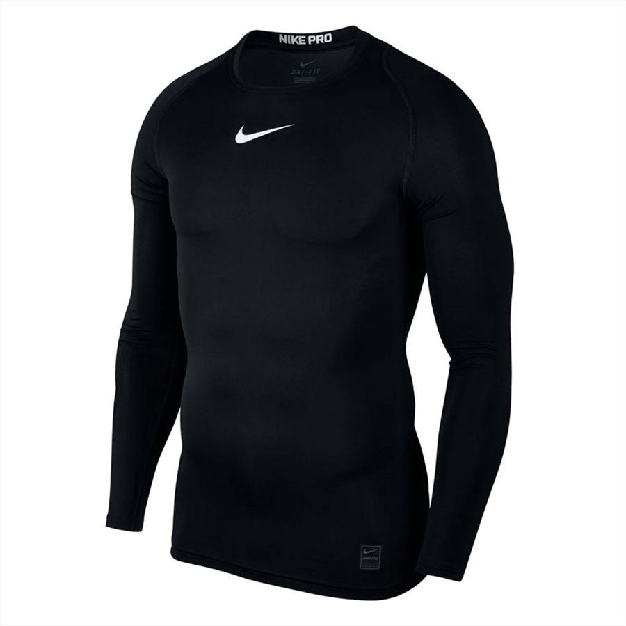 Nike Funktionsshirt Longsleeve Pro Compression Top schwarz Bild 2