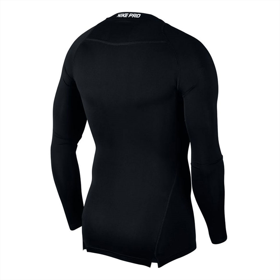 Nike Funktionsshirt Longsleeve Pro Compression Top schwarz