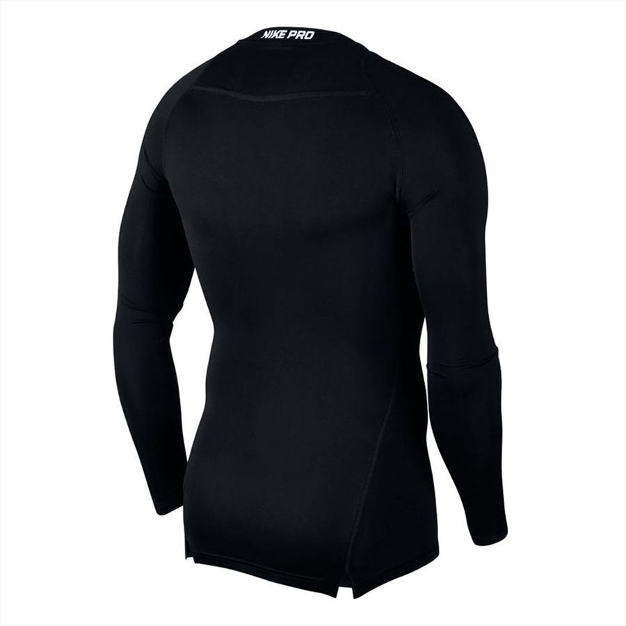 Nike Funktionsshirt Longsleeve Pro Compression Top schwarz Bild 3