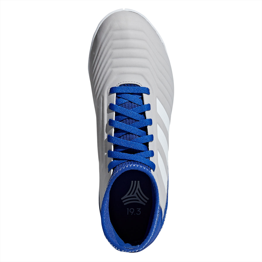 adidas Kinder Hallenschuh Predator 19.3 IN J grau/blau Bild 4