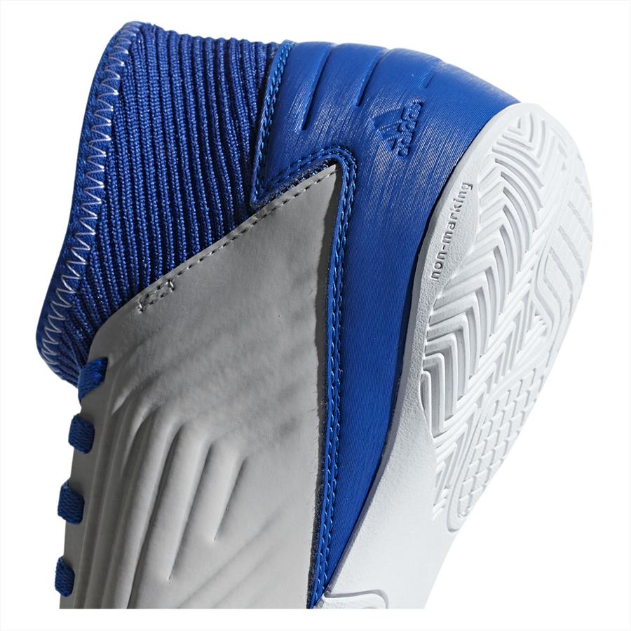 adidas Kinder Hallenschuh Predator 19.3 IN J grau/blau Bild 10