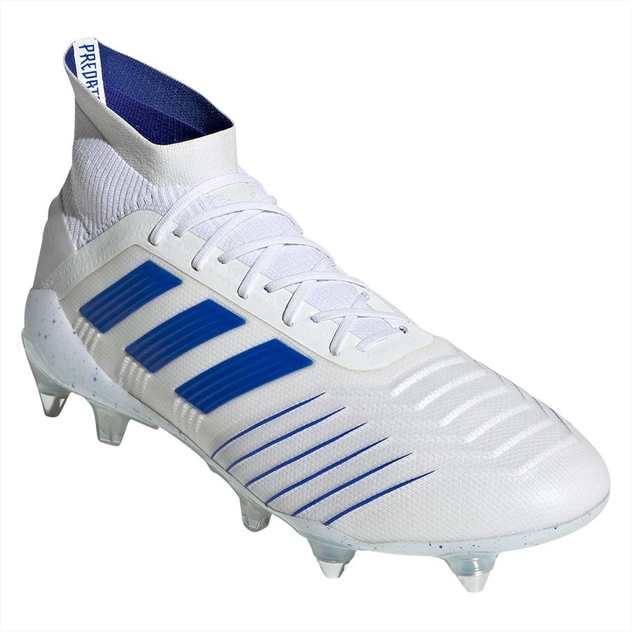 adidas Fußballschuh Predator 19.1 SG weiß/blau Bild 5