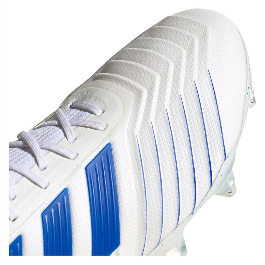 adidas Fußballschuh Predator 19.1 SG weiß/blau Bild 8