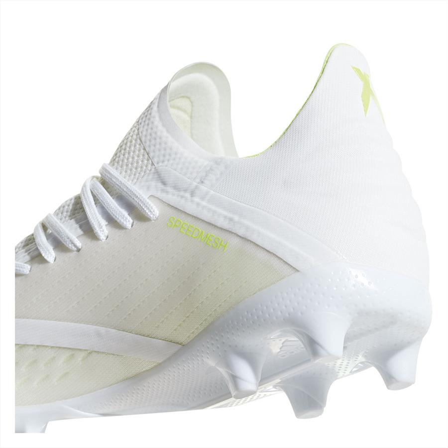 adidas Kinder Fußballschuh X 18.1 FG J weiß/gelb fluo Bild 8
