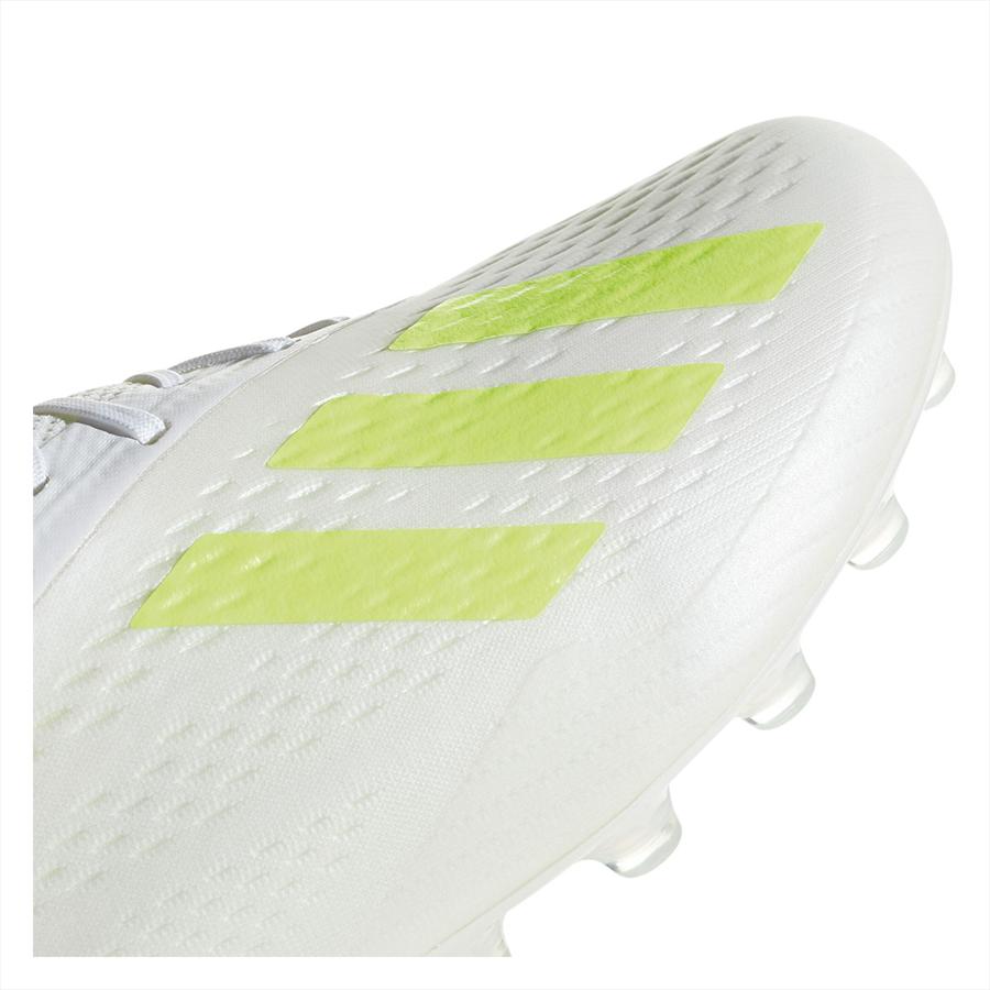 adidas Fußballschuh X 18.1 AG weiß/gelb fluo Bild 8