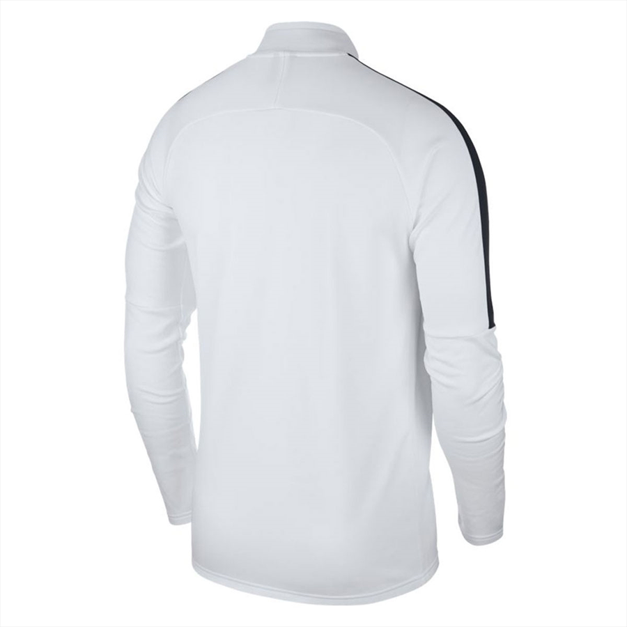 Nike Trainingsoberteil Academy 18 Drill Top 1/4 Zip LS weiß