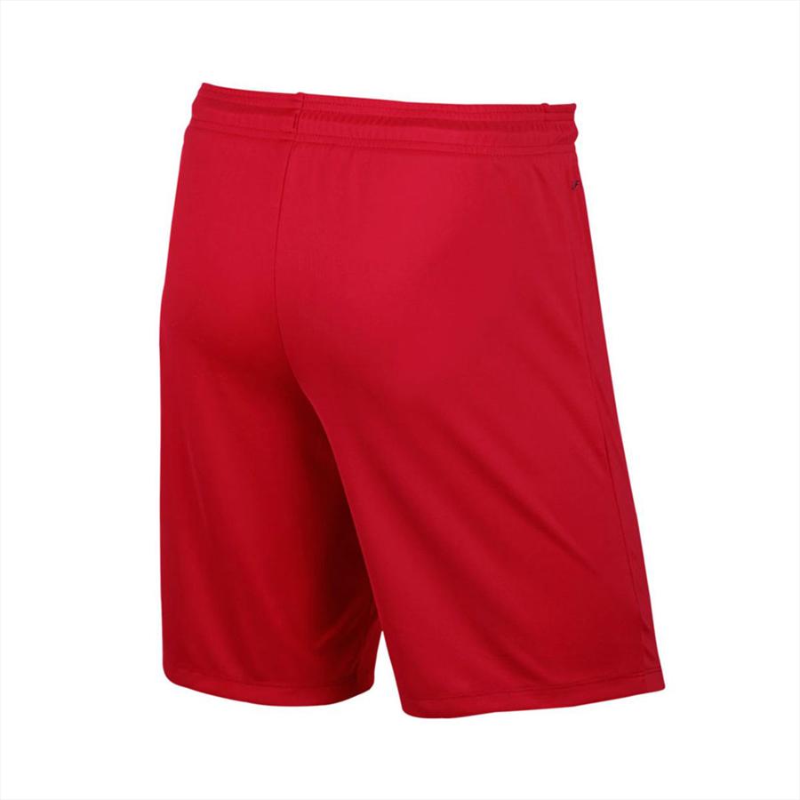 Nike Short Park II Knit ohne Innenslip rot/weiß Bild 3
