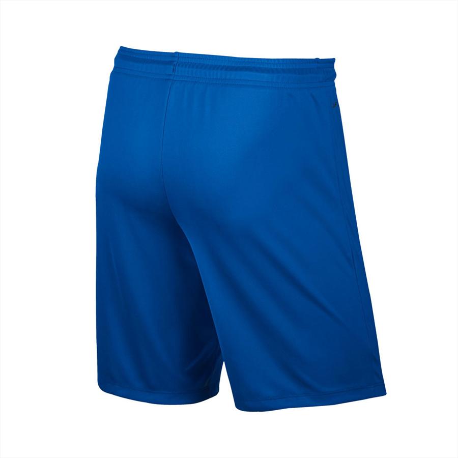 Nike Short Park II Knit ohne Innenslip blau/weiß Bild 3