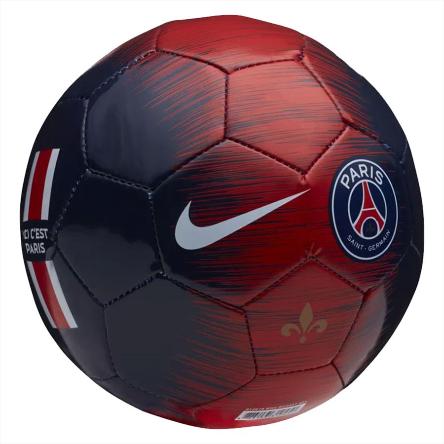 Nike Paris St. Germain Fußball Skill Größe 1 dunkelblau/rot Bild 3