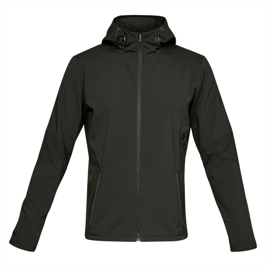 Under Armour Kapuzenjacke Storm Cyclone Jacket dunkelgrün/schwarz