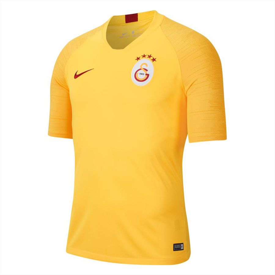 Nike Galatasaray Istanbul Trainingsshirt Breathe Strike Top gelborange/rot Bild 2