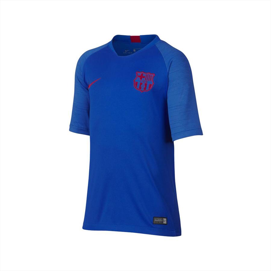 Nike FC Barcelona Kinder Trainingsshirt Breathe Strike Top blau/rot Bild 2