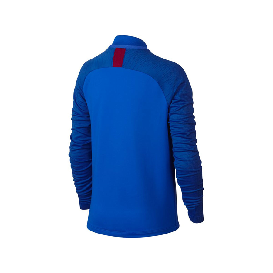 Nike FC Barcelona Kinder Trainingsoberteil Strike Drill Top blau/rot Bild 3