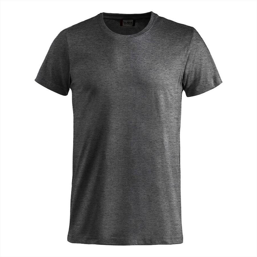 Clique Shirt Basic-T dunkelgrau Bild 2