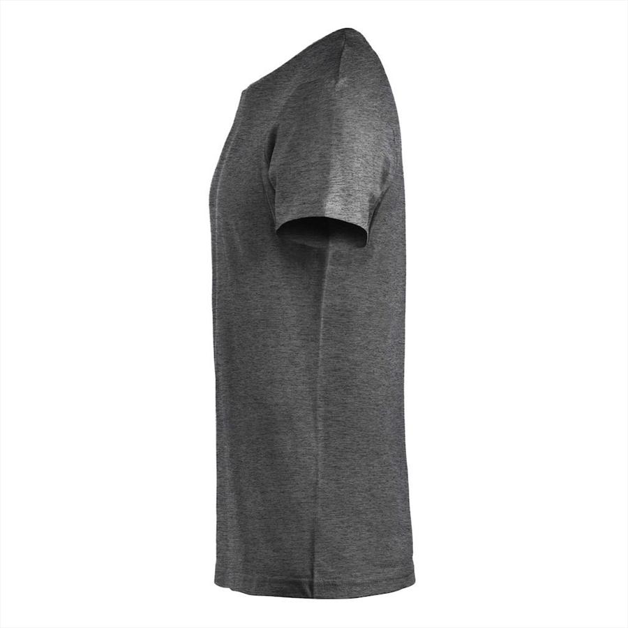 Clique Shirt Basic-T dunkelgrau Bild 4