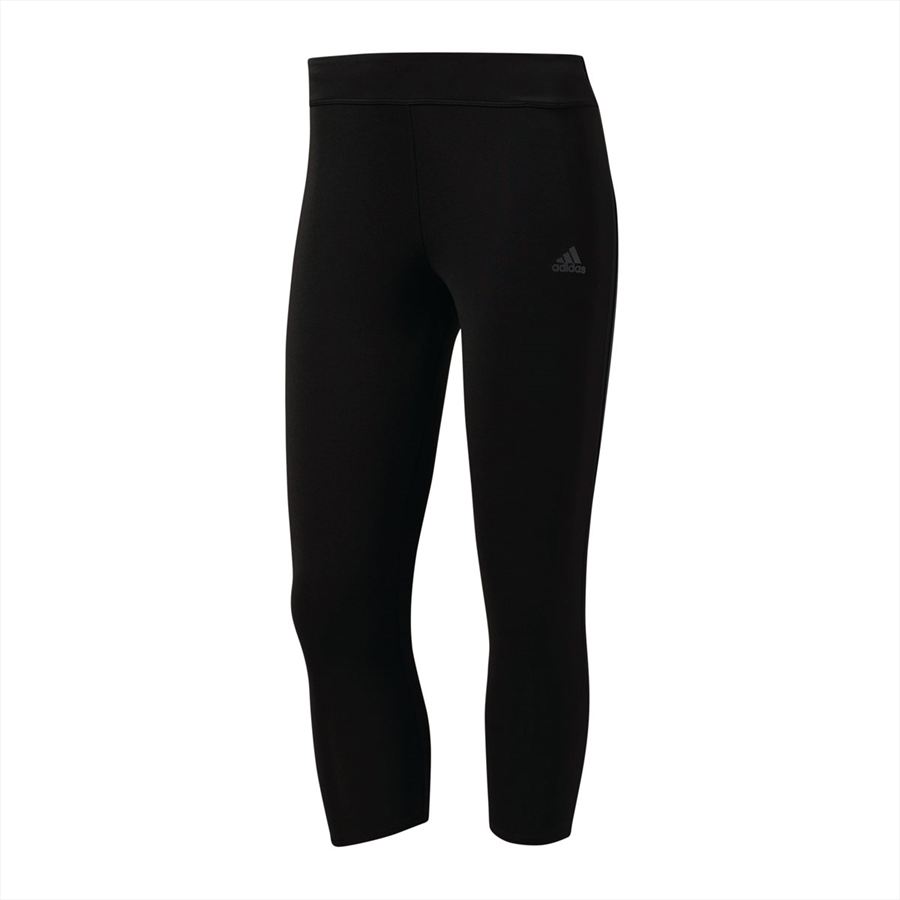adidas Damen 3/4 Leggings Response Tight schwarz/weiß Bild 2