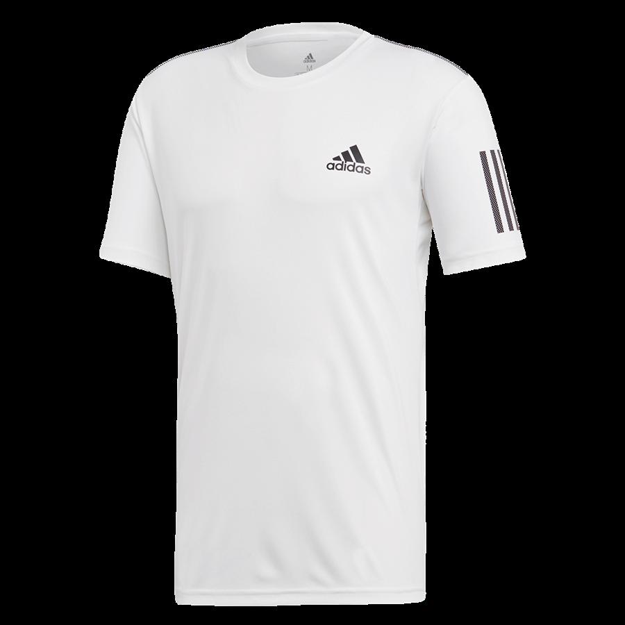 adidas Trainingsshirt 3S Club Tee weiß/schwarz Bild 2
