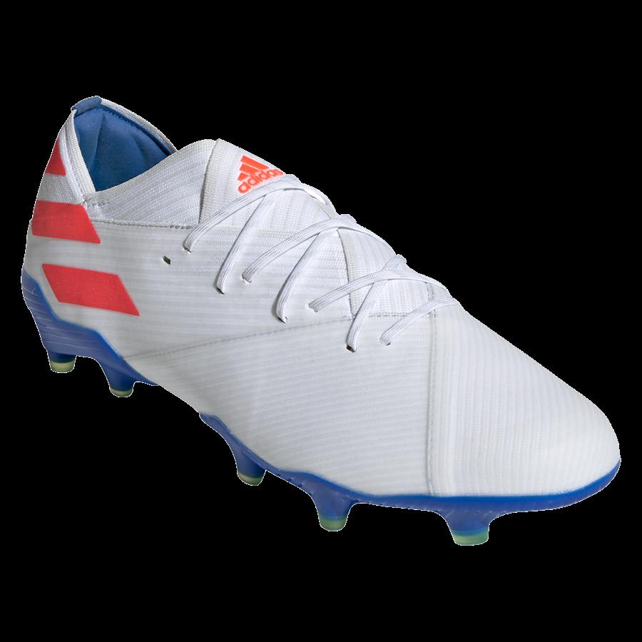 adidas Fußballschuh Nemeziz Messi 19.1 FG weiß/rot Bild 9