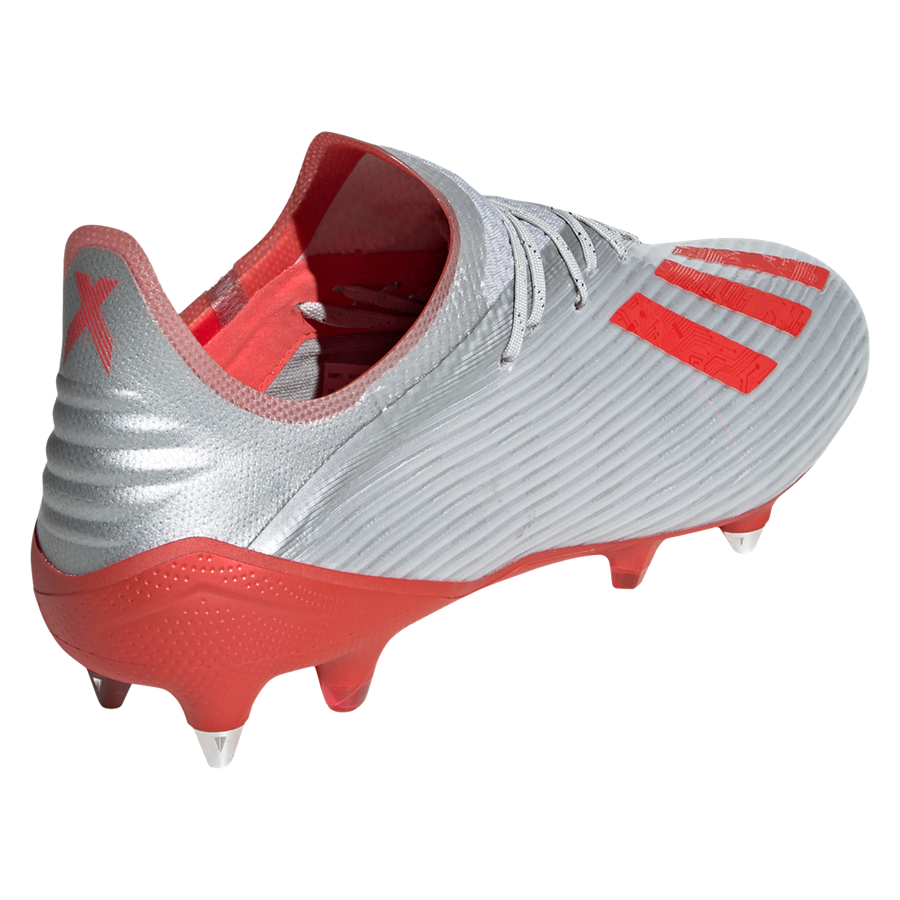 adidas Fußballschuh X 19.1 SG silber/rot Bild 10
