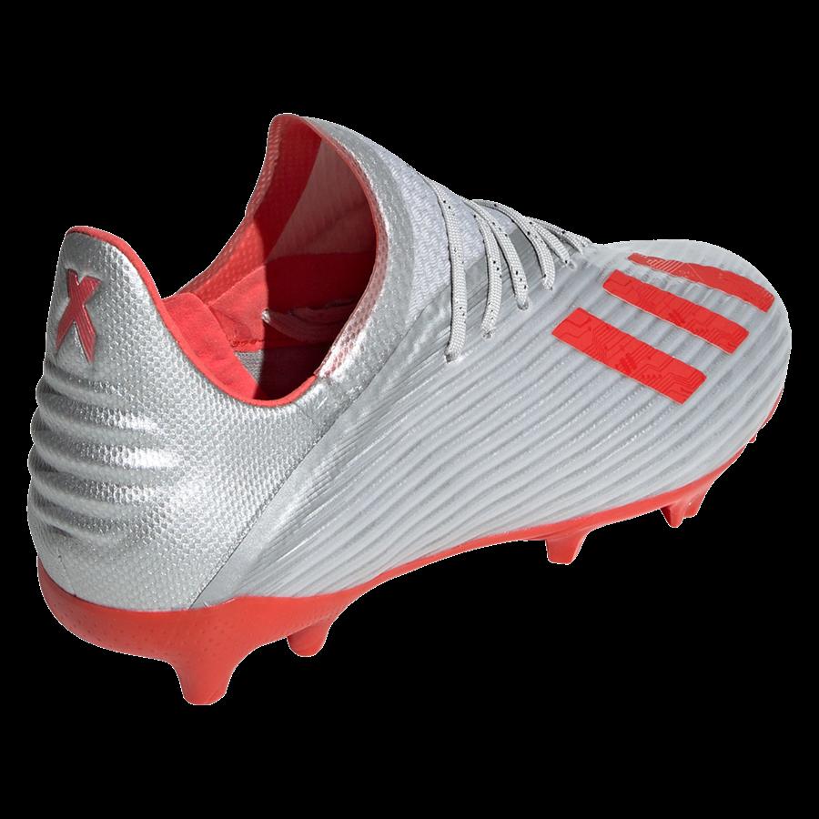 adidas Kinder Fußballschuh X 19.1 FG J silber/rot Bild 10