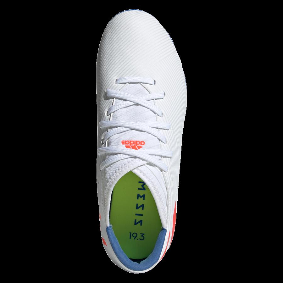 adidas Kinder Fußballschuh Nemeziz Messi 19.3 FG J weiß/rot Bild 4