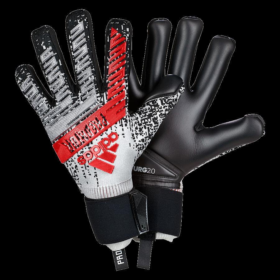 adidas Torwarthandschuhe Predator Pro silber/schwarz Bild 2