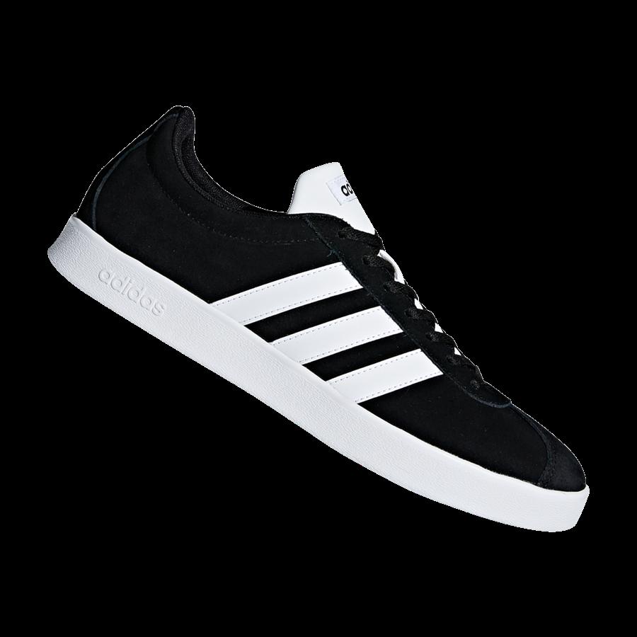 adidas Freizeitschuh VL Court 2.0 schwarz/weiß Bild 2